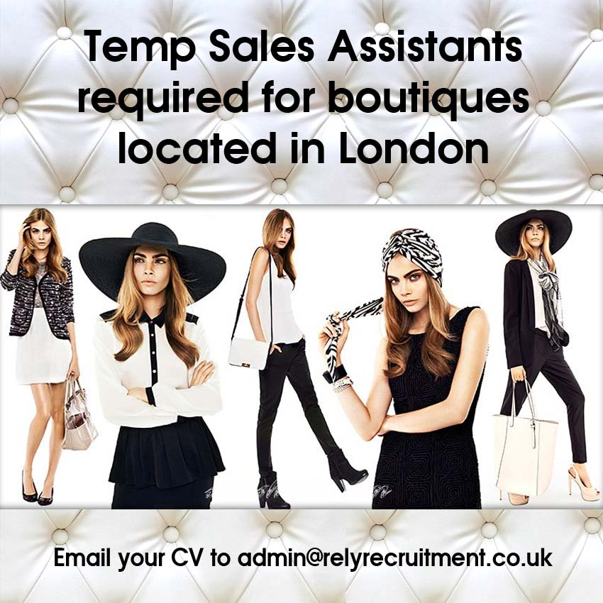 roles of sales assistant