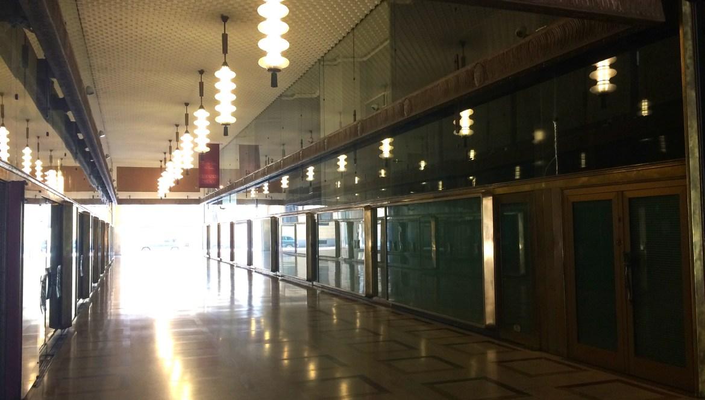 A defunct movie theatre in Milano