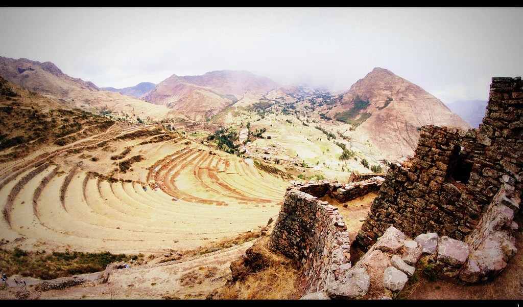 Les ruines de Pisac.