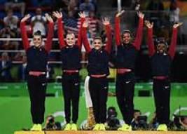 final five gymnasts