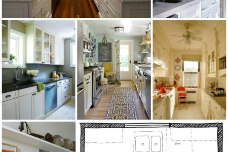 galley kitchen layouts via remodelaholic