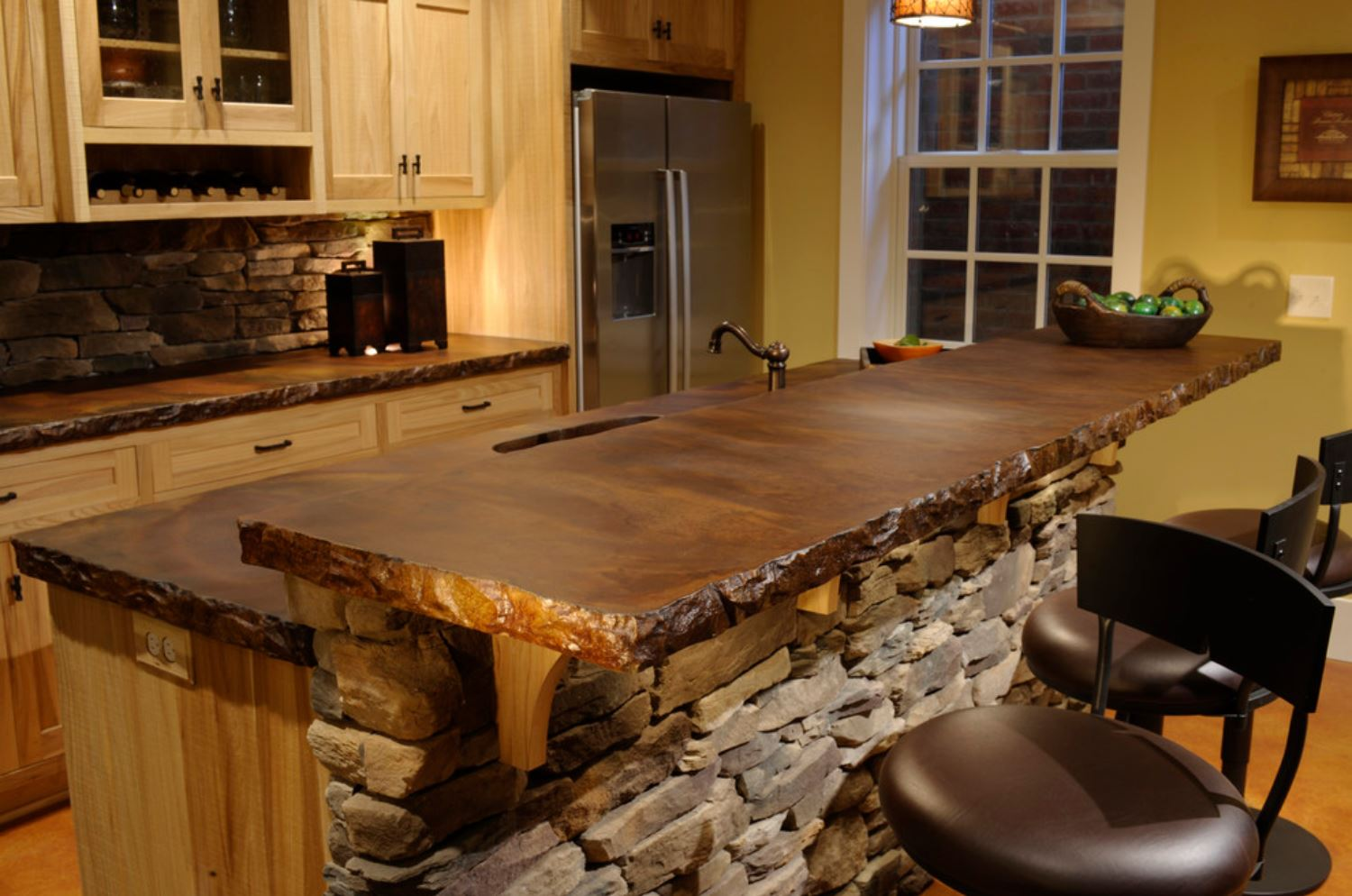 top 10 countertops prices plus pros and cons kitchen countertop ideas custom concrete countertop with rough edges