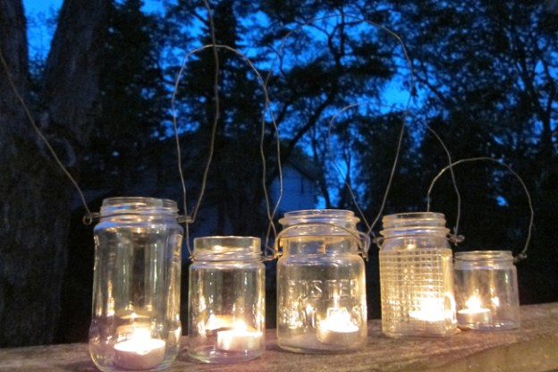 How to make mason jar lights