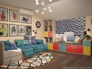 Современный дизайн квартиры Севастополь
