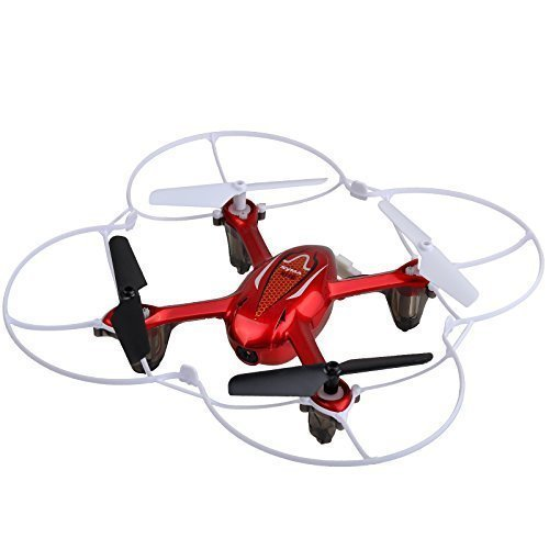 Syma X11C RC Quadcopter with Camera & LED Lights – Red