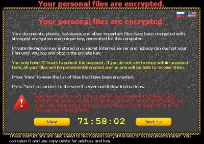 CTB Locker (Critoni) Ransomware