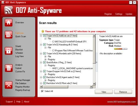 007 Anti-Spyware