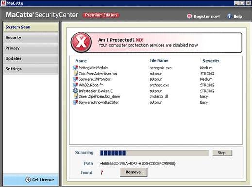 Macatte Antivirus 2009