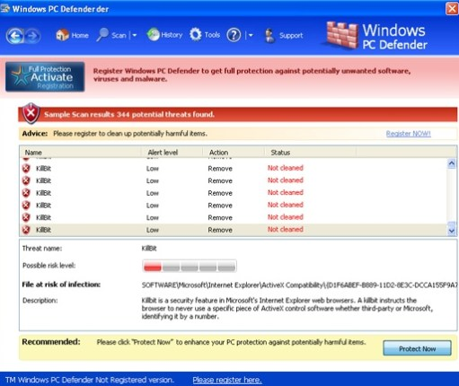 Windows PC Defender
