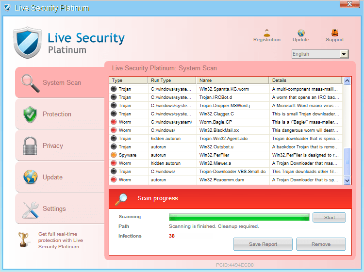 live security platinum