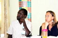Paul Bagambe along with Bethany Ericson, RENCP Co-chair