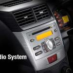 2 Din Audio System Veloz Luxury