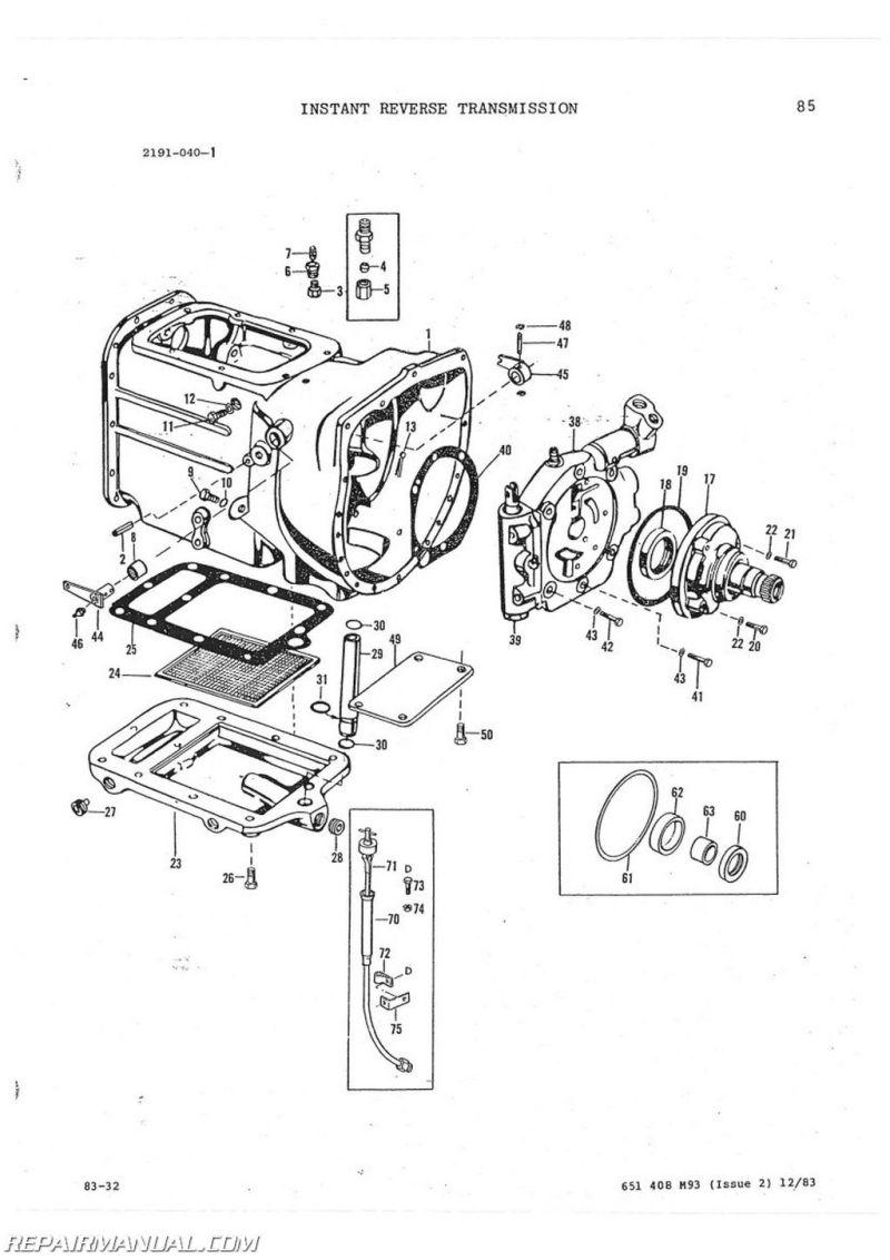 massey ferguson tractor parts list