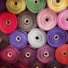 colorful clothing materials
