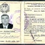 Credencial que se le incauto, firmada por Eladio Aponte. magistrado del TSJ