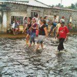 La población zuliana se inundó y 46% del municipio Catatumbo, en el sur del lago, está bajo las aguas.