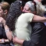 La hermana de Mayling Valderrama, Dayana Montes de Oca, y su madre Nelly Montes de Oca lamentaban el asesinato.