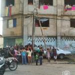 El edificio invadido en Puerto La Cruz estaba en construcción y queda en el Paseo Colón.