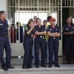 Fueron puestos a la orden del Comando General y serán sometidos a sanciones disciplinarias.