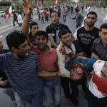 Al menos 84 personas han muerto durante la represión de los últimos tres días.