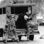 Luego de la intentona, los militares custodiaron Miraflores