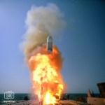 El ataque con los misiles Tomahawk lo lanzo la marina como estaba previsto esta tarde de sábado, dijo un funcionario.
