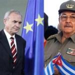 El presidente cubano y el padre del euro coinciden en reconocer el fracaso de sus proyectos.