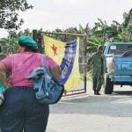 La Hacienda Olla Grande, principal productora de plátano, permanece militarizada.
