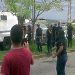 Seis activistas resultaron heridas y detenidas durante la represión a una protesta a las puertas del circuito judicial de Barinas.