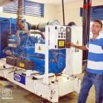 La planta eléctrica que la gobernación instaló en el Hospital Central de Táchira costó 1,5 millones de bolívares.