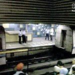 CORTESÍA @CARACASMETRO Y @ROXYMARACHIQUE El pasado martes 2 de los 7 vagones de un tren se desprendieron en la estación Palo Verde