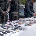 """""""Informaron que a los celulares incautados se les realizan las investigaciones para determinar a quién estaban dirigidas las amenazas y extorsiones"""""""