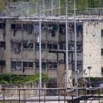 La paredes en El Rodeo I y II muestran el poder de fuego aplicado por efectivos de la GN que registra mas de 20,000 impactos.