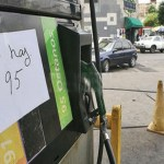 Las estaciones de servicio del oeste de Caracas ayer amanecieron sin gasolina.
