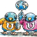 Las redes sociales son una herramienta para publicitar las actividades que ofrecen las casas de estudio.