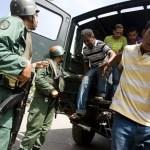 Fue detenido en la población de El Callao mientras conducía un vehículo Chevrolet, modelo Spark, de color negro.