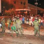 Hubo una movilización el miércoles en la noche en las principales avenidas de la isla.