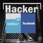 Twitter y Facebook registran múltiples ataques de piratas electrónicos.