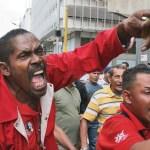 La presencia de la Policía Nacional Bolivariana disuadió a los manifestantes de continuar la protesta.