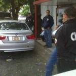 Funcionarios del Cicpc encontraron el vehículo en la calle Los Mangos de Chapellín la mañana de ayer.