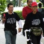 """Alexander Quintero, """"El Caminante"""", un luchador social, denunció a Polisur por la muerte de su hijo."""