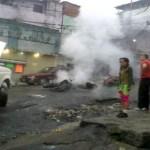 """imagen de la situación irregular en el barrio """"El Observatorio"""" del 23 de Enero"""