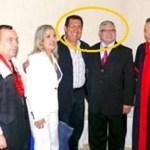Acto de Apertura del Año Judicial en Barinas marzo 2010. Adán Chávez condecoró y elogió a Eladio Aponte.