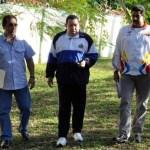 La agencia AVN difundió fotos del Presidente Chávez en Cuba con su familia y colaboradores.