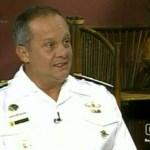 El Almirante Aniasi,  nntes de dirigir la Marina, el militar fue inspector general del componente.