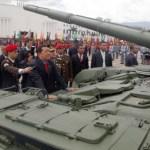 """""""Este año deben llegar dos batallones de tanque más T-72"""", señaló Chávez."""