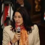 La procuradora Flores ofreció ayer nuevos detalles de la reforma del COPP, cuyo texto íntegro no ha sido difundido oficialmente.