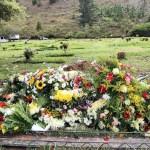 La última morada del funcionario, en lo más alto del cementerio. 52 policías han muerto en lo que va del 2012 en Caracas.