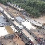 El paso por la vía Cúa-Tácata, donde cayó un talud de tierra que afectó a 8.000 personas, fue reestablecido ayer en la tarde.