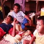 Hambre y pobreza reinan entre los 350 habitantes de la etnia añú que lo habita, reseña el diario zuliano.